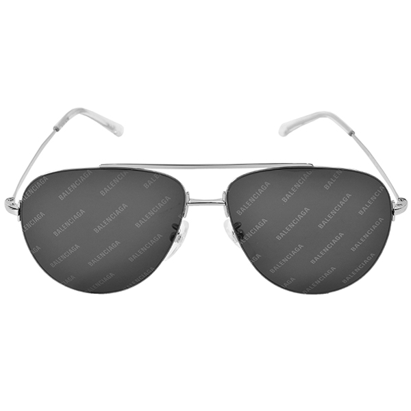 SUNGLASSES/SILVER/BLACK