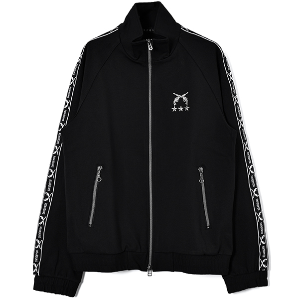 CAREE MAN  JERSEY BLOUSON/BLACK