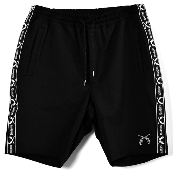 CAREE MAN  JERSEY SHORT PANTS/BLACK