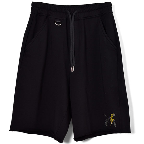 COMPACT SHORT PANTS/BLACK