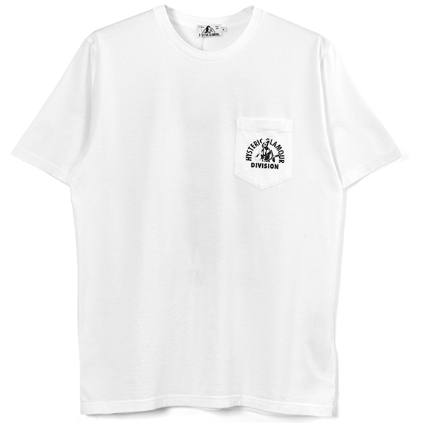 RELIGHT MY FIRE pt ポケット付き Tシャツ/WHITE