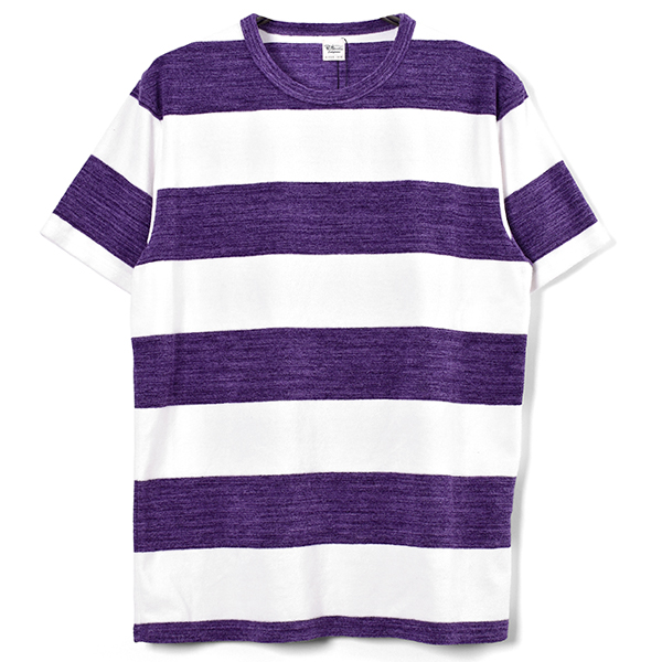 Spec Border Tee/PURPLE