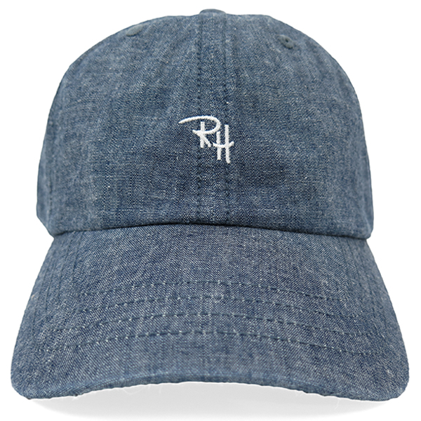 RH CHAMBRAY CAP/BLUE