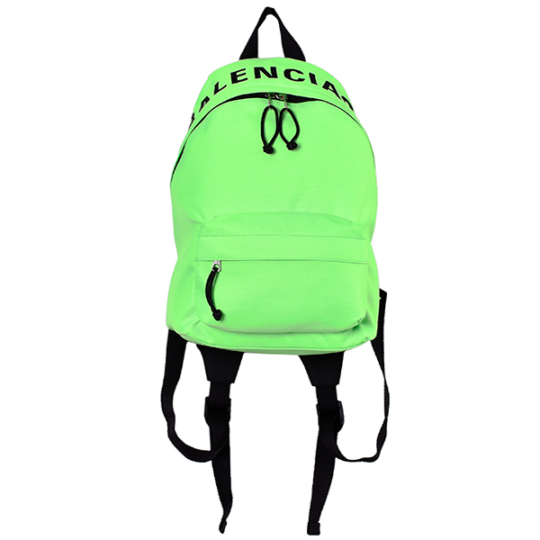 WHEEL BACKPACK/FLUO GREEN