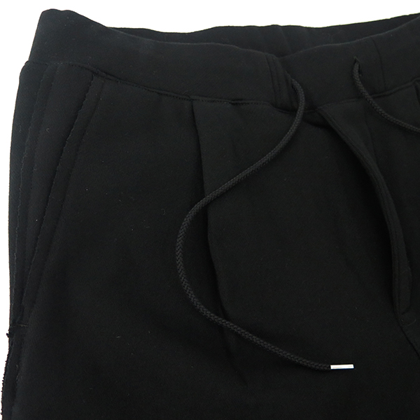 cut-off easy slacks/BLACK