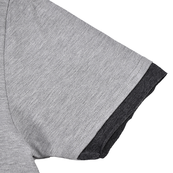 sweater's cut&sewn/GRAY×CHARCOAL