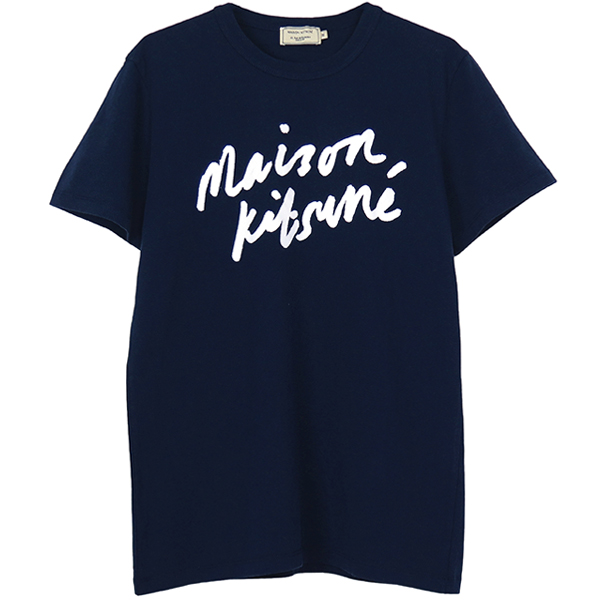 TEE-SHIRT HANDWRITIN/NAVY