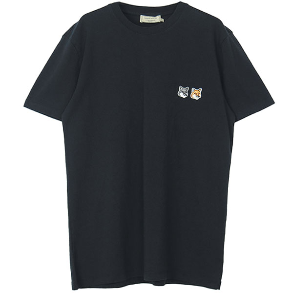 TEE-SHIRT DOUBLE FOX/BLACK