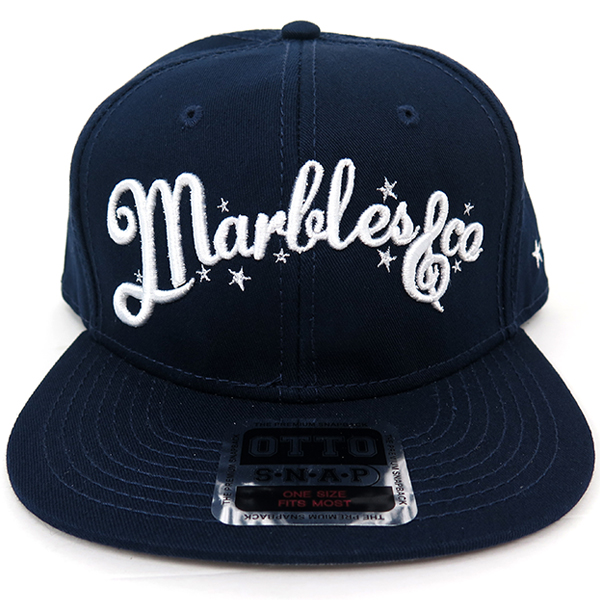 NEO-LOGO SNAP BACK CAP/NAVY