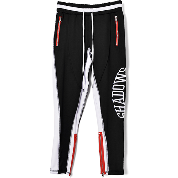 REVERSED TRACK PANTS/BLACK