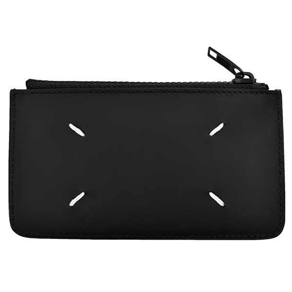 LEATHER COIN PURSE/BLACK