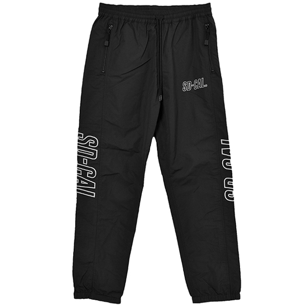 SD Sports Track Pants/BLACK
