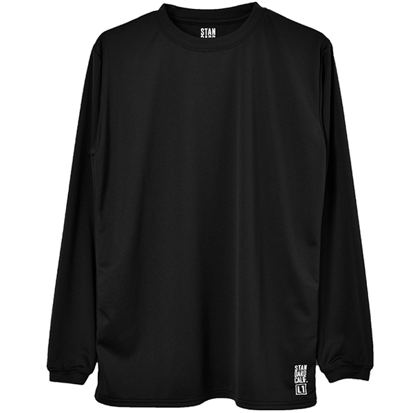 SD Tech Dry Daily First Layer Long Sleeve / DLS L1/BLACK