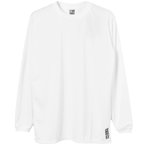 SD Tech Dry Daily First Layer Long Sleeve / DLS L1/WHITE