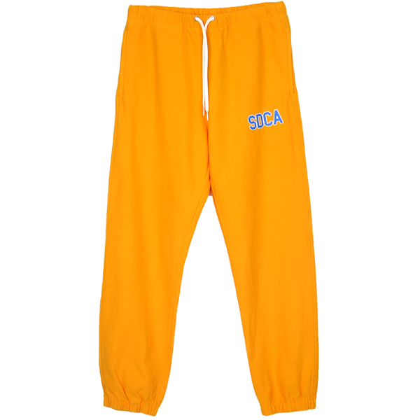 SD US Cotton Sweat Pants with Logo/GOLD