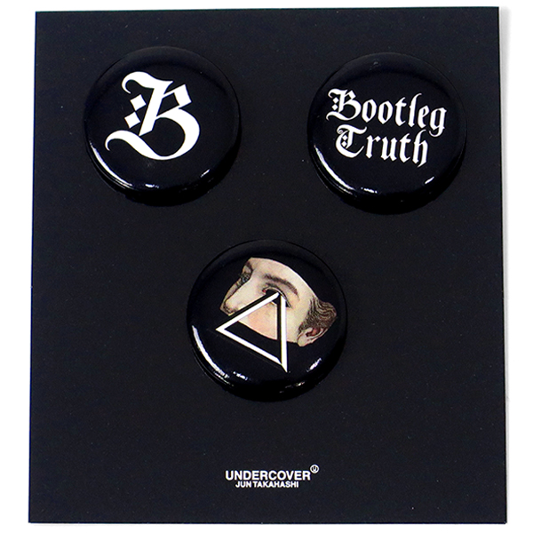 BADGES SET/BLACK