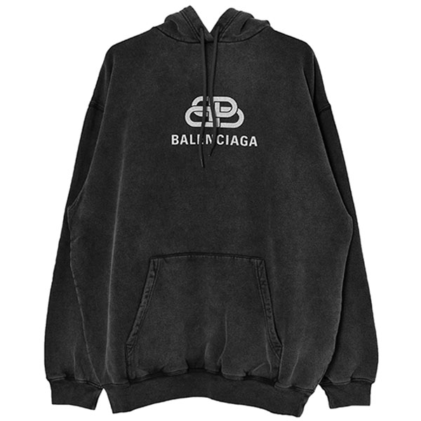 BB LOGO HOODIE/ANTHRACITE