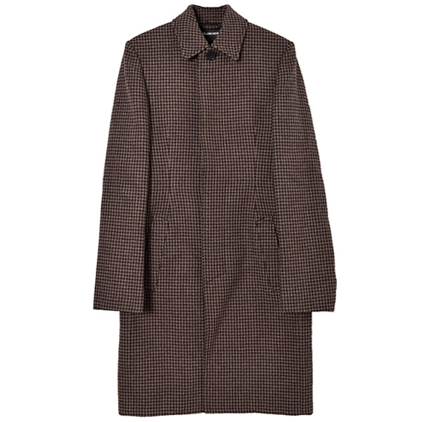 SOUTIEN COLLOR COAT/BROWN