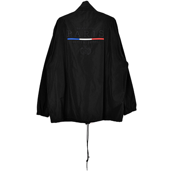 COACH JACKET/BLACK