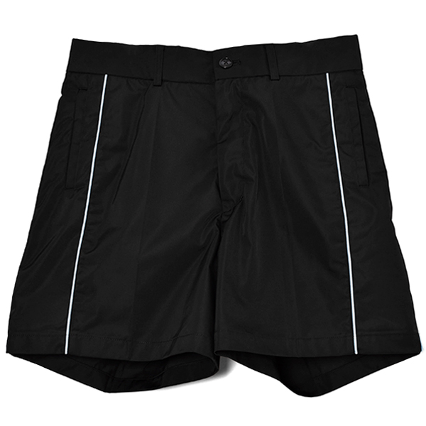 PIPPING SHORTS/BLACK