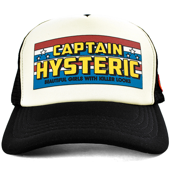 CAPTAIN HYSTERIC メッシュキャップBLACK