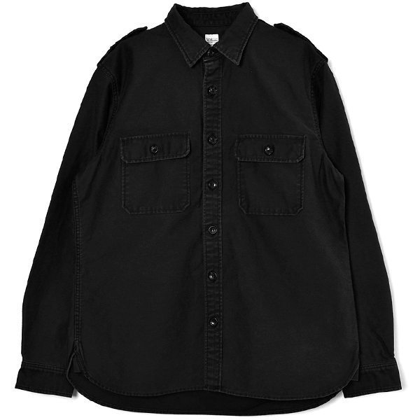 Back Stain Shirt/BLACK
