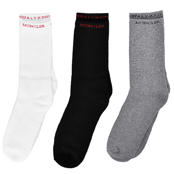 【ポイント10倍】CALZINI SOX/WHITE/GRAY/BLACK
