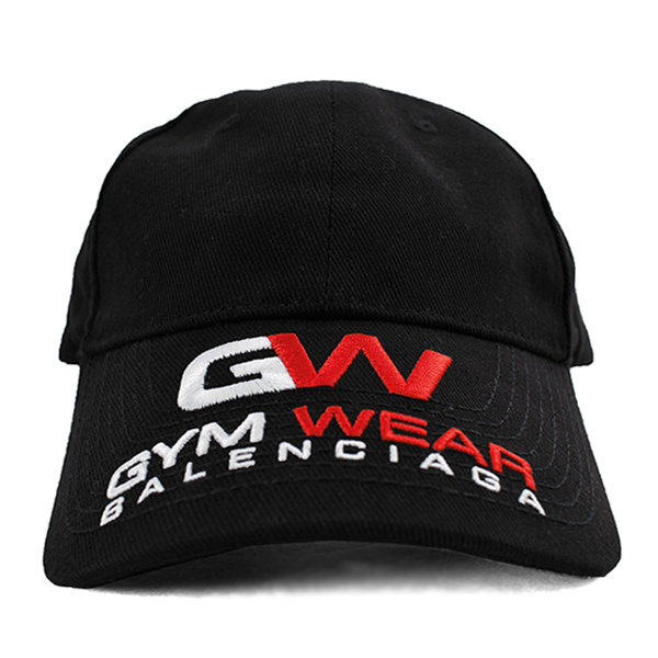 GYM WEAR CAP/BLACK
