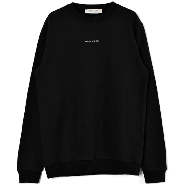 SPHERE LOGO CREWNECK SWEATSHIRT/BLACK