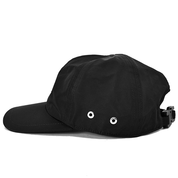 LOGO HAT W/BUCKLE/BLACK
