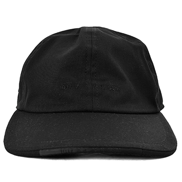 LOGO HAT W/METAL  BUCKLE/BLACK