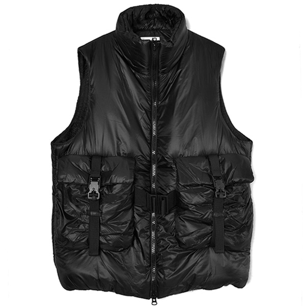 M CH3 LIGHTWEIGHT PUFFY VEST/BLACK