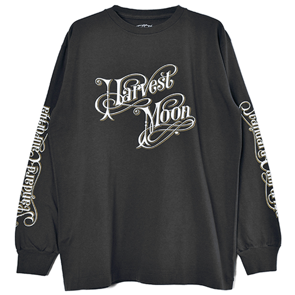Harvest Moon Long Sleeve T/BLACK
