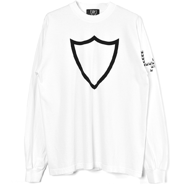 HTC 20th Long Sleeve T #Shield LA/WHITE