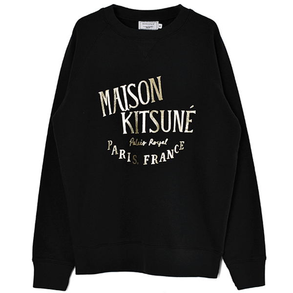 SWEATSHIRT PALAIS ROYAL /BLACK