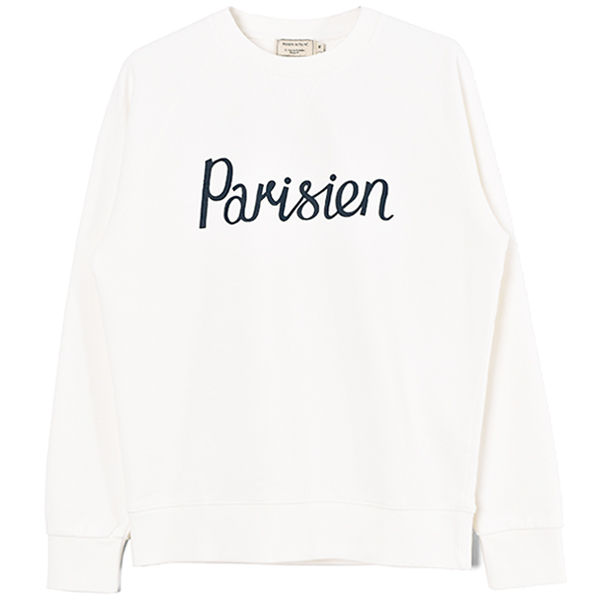 SWEATSHIRT PARISIEN/OFF WHITE