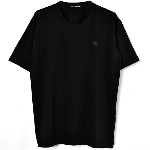 Classic fit t-shirt/BLACK