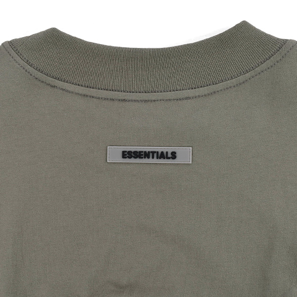 NEW FRONT LOGO LONG SLEEVE T-SHIRT/SAGE