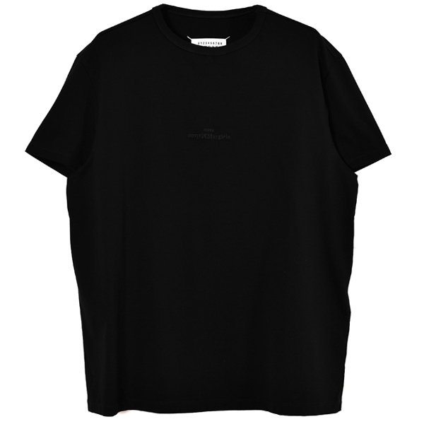 LOGO EMBROIDERY TEE/BLACK