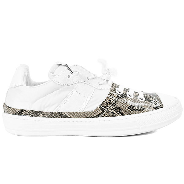 EVOLUTION LOW-TOP SNEAKER/WHITE