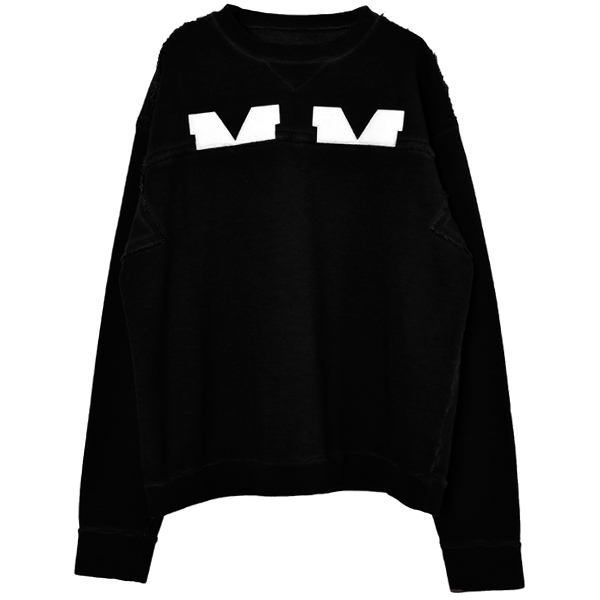 SWEAT SHIRT/BLACK