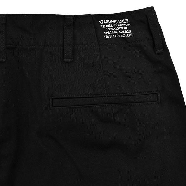 SD 41Khaki Pants WT/BLACK