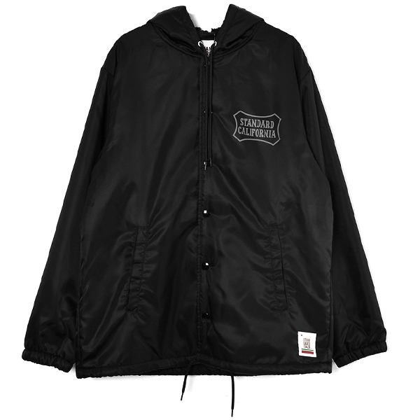 SD Boa Hood Coach Jacket/BLACK