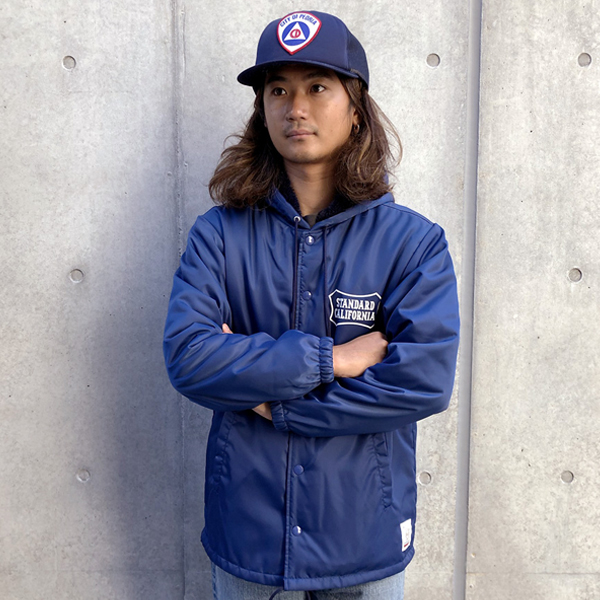 SD Boa Hood Coach Jacket/BLUE