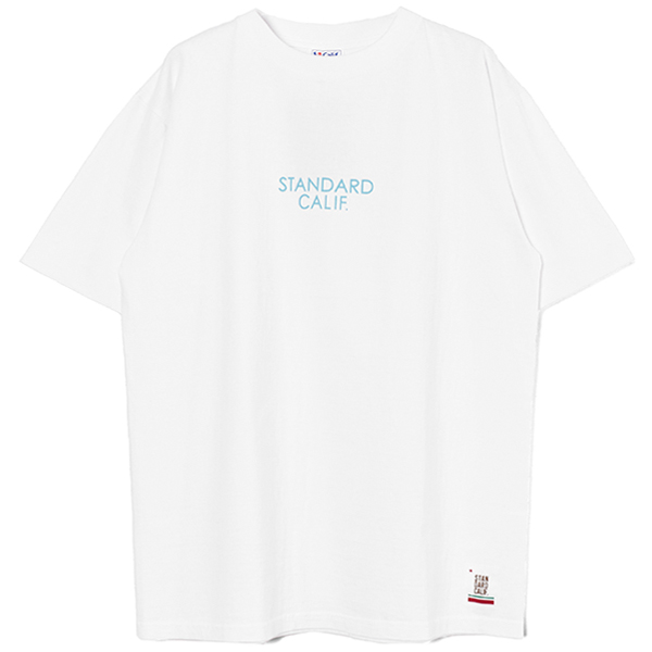 SD Heavyweight Logo T/WHITE