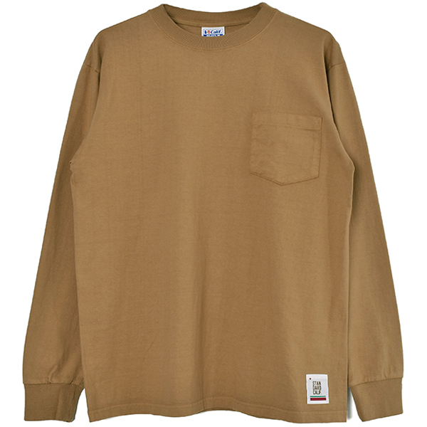SD Heavyweight Pocket Long Sleeve T/BEIGE