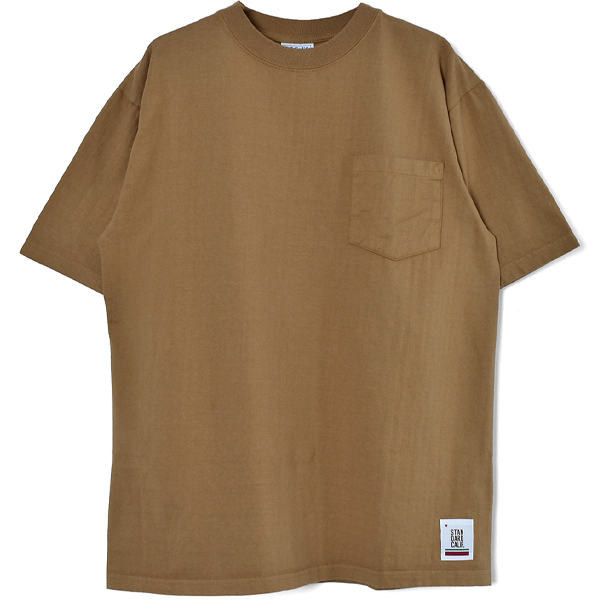 SD Heavyweight Pocket T/BEIGE