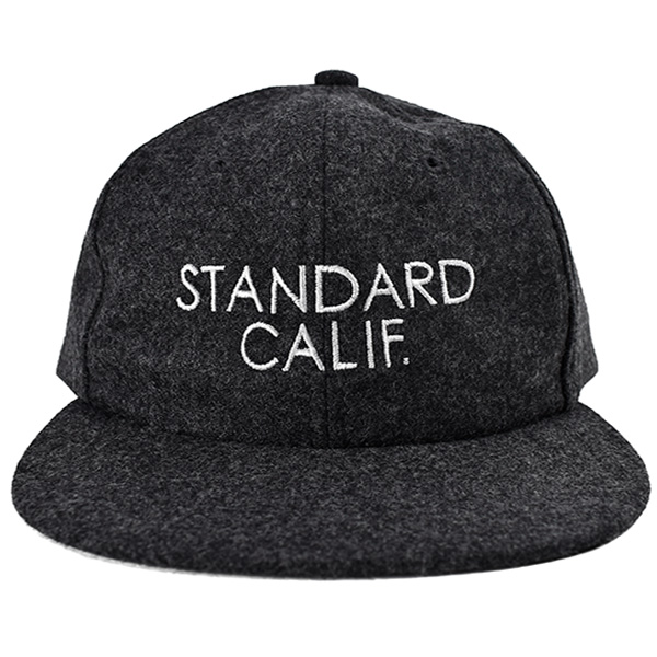 SD Logo Wool Cap/CHARCOAL