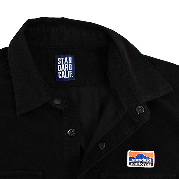 SD Stretch Moleskin Classic Field Shirt/BLACK
