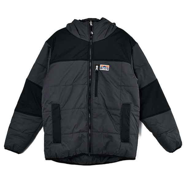 SD Stretch Reversible Puff Parka/BLACK